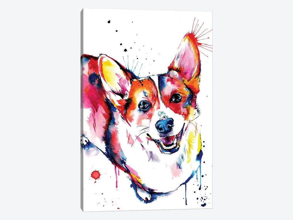 Corgi by Weekday Best 1-piece Canvas Art