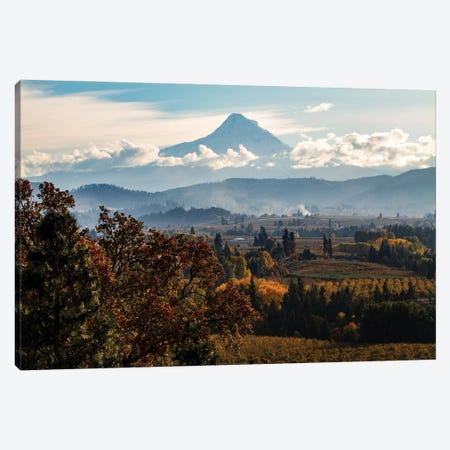 USA, Oregon. Mount Hood autumn landscape scenery. Canvas Print #SND20} by Jolly Sienda Canvas Art