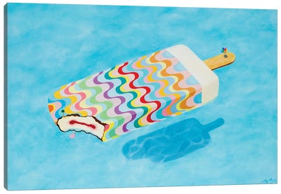 Pool 711 Canvas Art Print