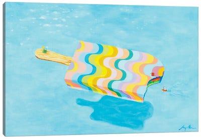 Pool 982 Canvas Art Print