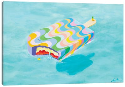 Pool 983 Canvas Art Print