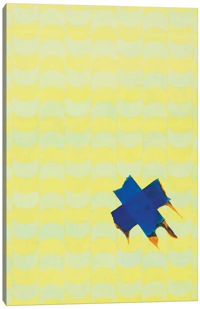 Yellow 342 Canvas Art Print
