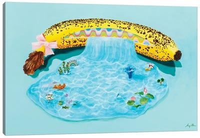Banana Fall 104 Canvas Art Print