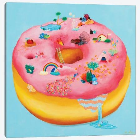 Doughnut 835 Canvas Print #SNG3} by Sanghee Ahn Canvas Print