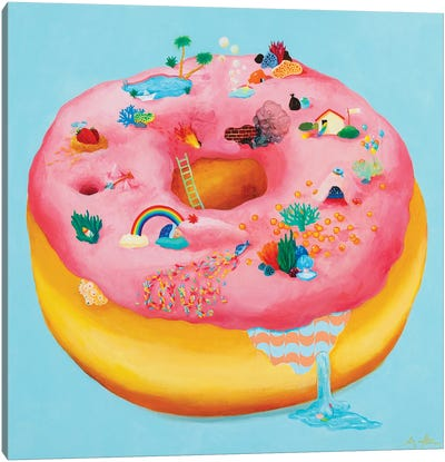 Doughnut 835 Canvas Art Print