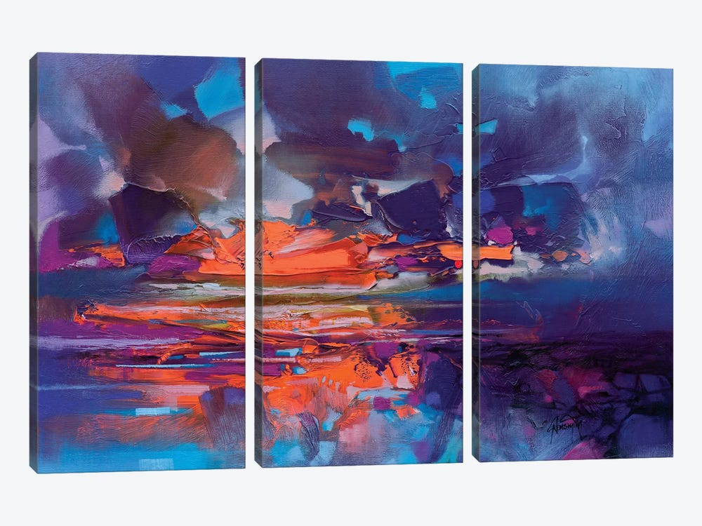 Compression by Scott Naismith 3-piece Canvas Wall Art