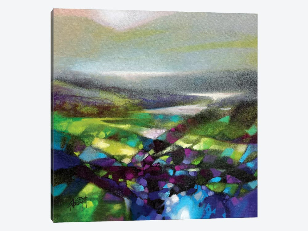 Displacement Greens by Scott Naismith 1-piece Canvas Art