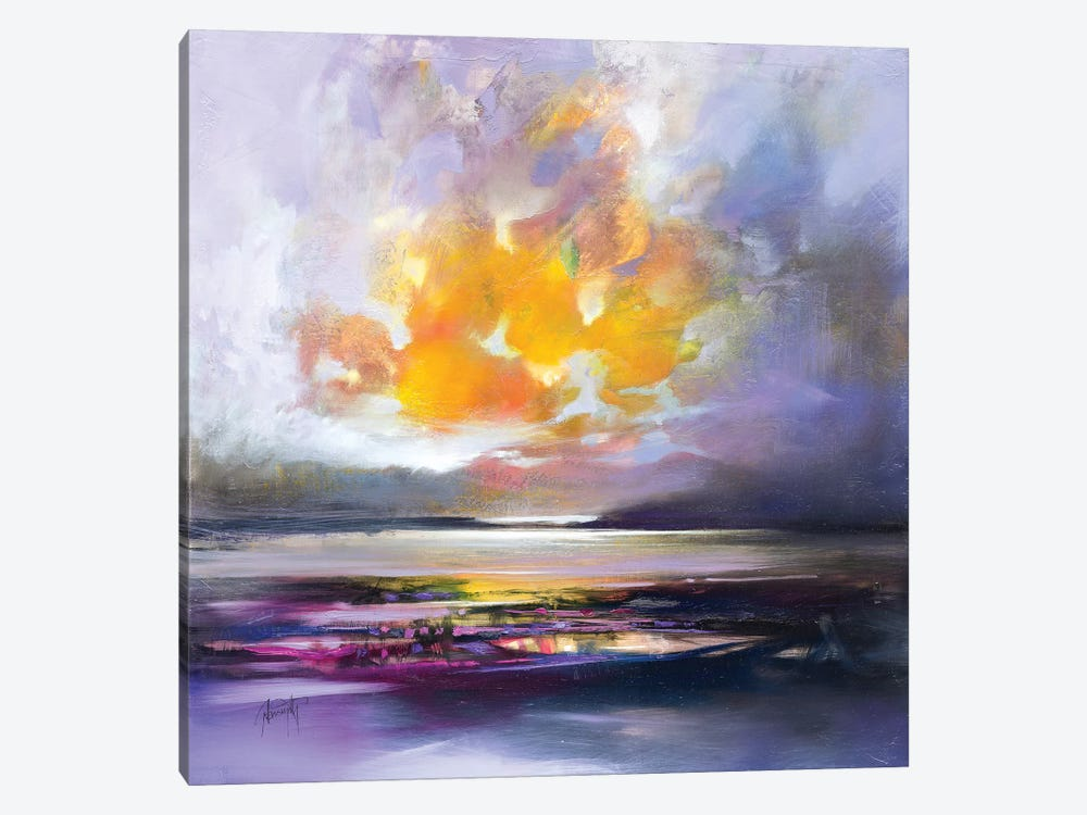 Highland Dusk Light 1-piece Art Print