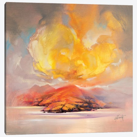 Land Emerges Canvas Print #SNH106} by Scott Naismith Canvas Wall Art