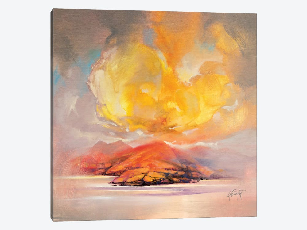 Land Emerges by Scott Naismith 1-piece Canvas Wall Art