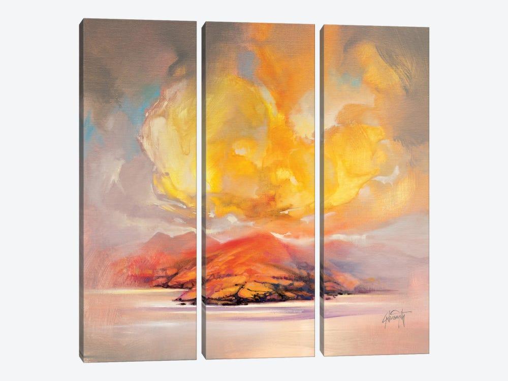 Land Emerges by Scott Naismith 3-piece Canvas Artwork
