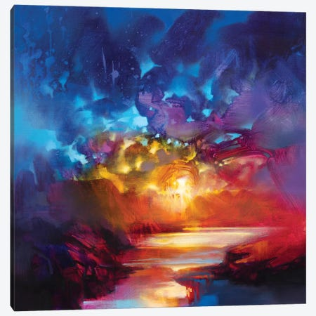 Liquid Light I Canvas Print #SNH107} by Scott Naismith Canvas Wall Art