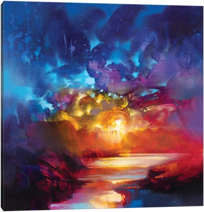 Liquid Light I by Scott Naismith Canvas Art Print