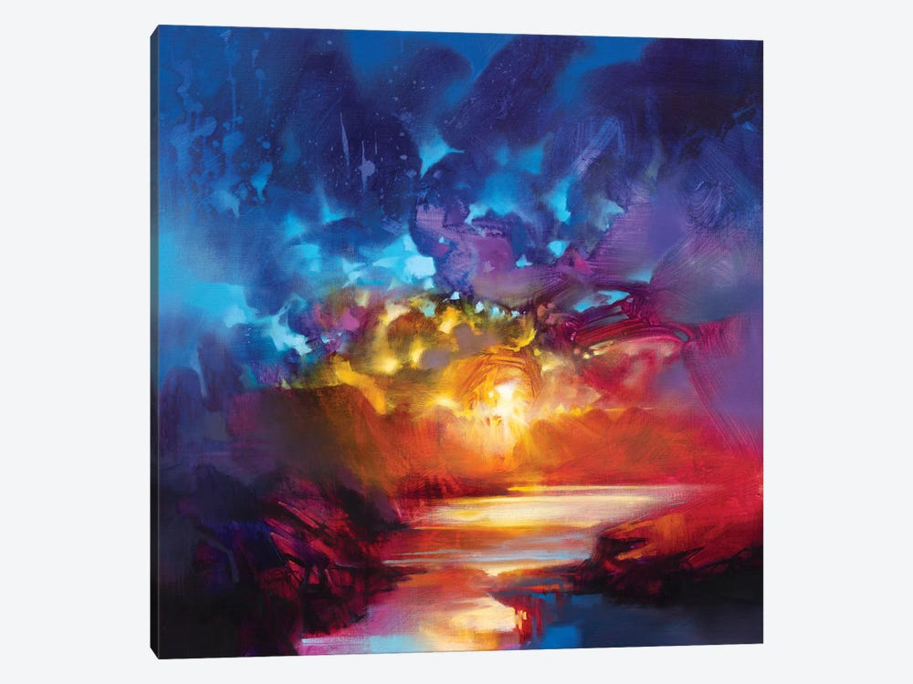 Liquid Light I by Scott Naismith 1-piece Canvas Print