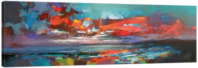 Cowal Red by Scott Naismith Canvas Art Print