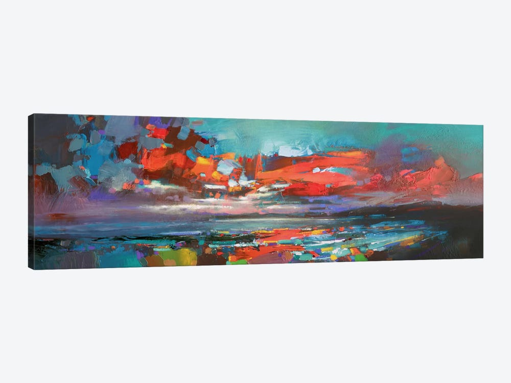 Cowal Red by Scott Naismith 1-piece Canvas Art Print