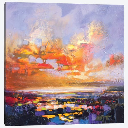 Particle Loch Study IV Canvas Print #SNH111} by Scott Naismith Canvas Art
