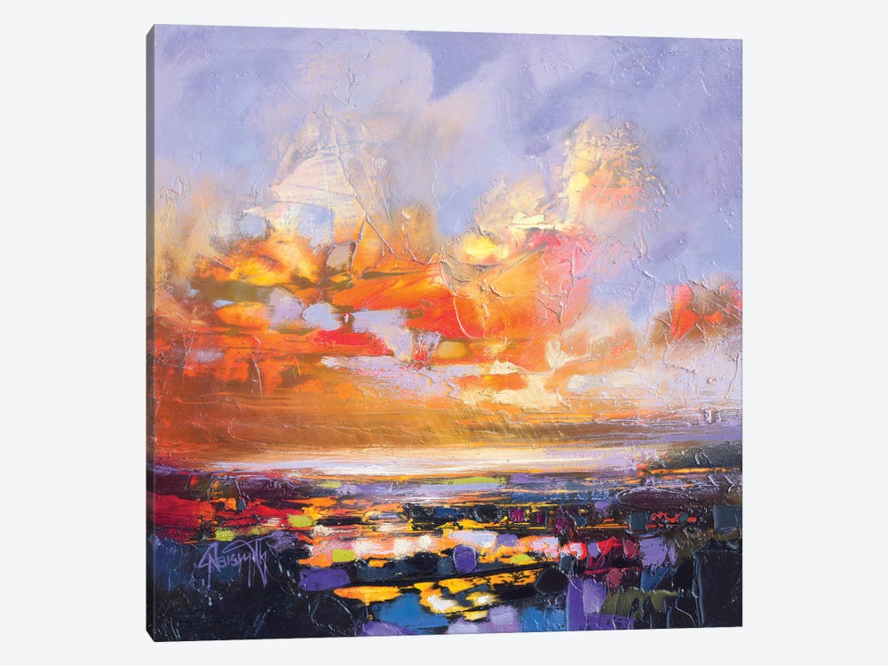 Particle Loch Study IV by Scott Naismith 1-piece Canvas Artwork