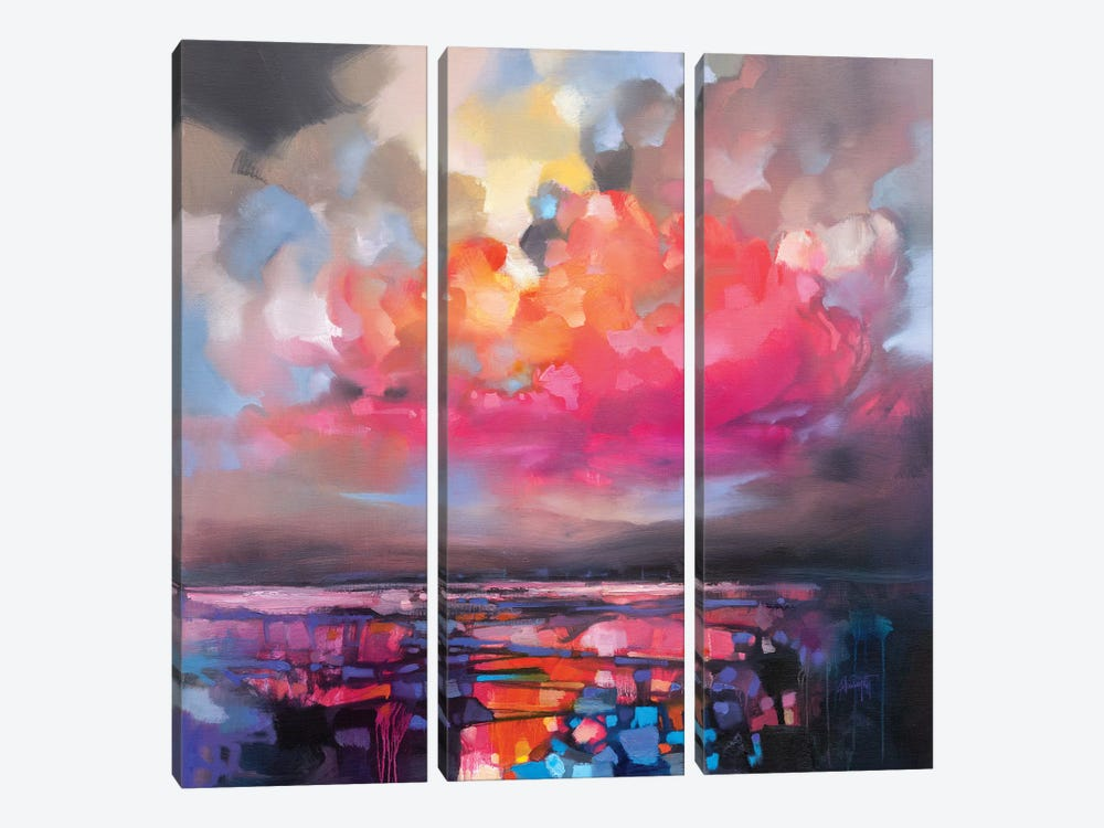Pressure Release by Scott Naismith 3-piece Canvas Print
