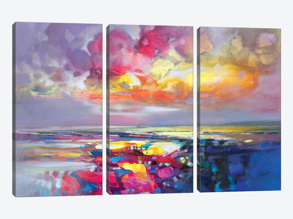 Primary Shore by Scott Naismith 3-piece Canvas Art