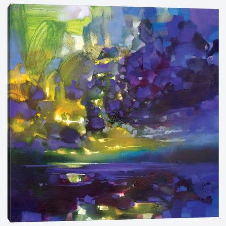 Purple Movement Canvas Print #SNH114} by Scott Naismith Canvas Art Print