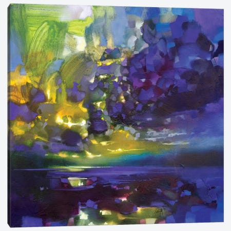 Purple Movement Canvas Print #SNH114} by Scott Naismith Canvas Art Print