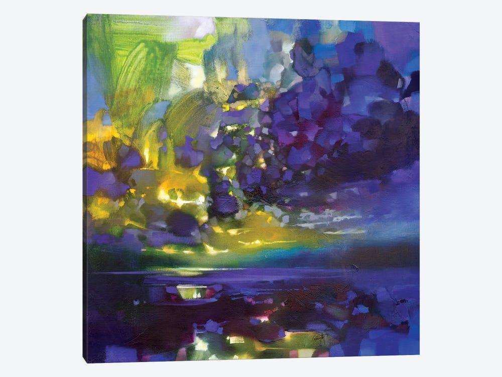 Purple Movement by Scott Naismith 1-piece Canvas Art Print