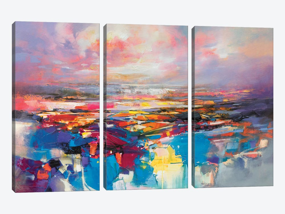 Quantum Gravity by Scott Naismith 3-piece Canvas Art Print