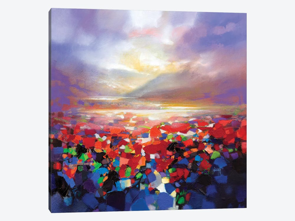 Red Proximity by Scott Naismith 1-piece Canvas Wall Art