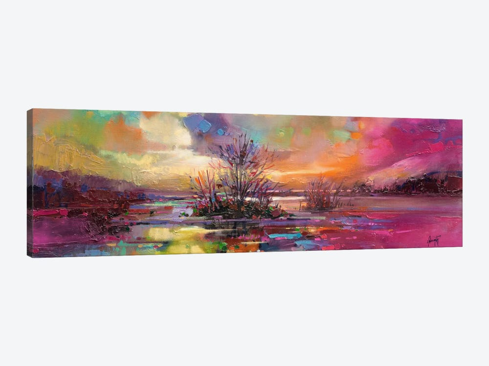 Loch Fyne Colour by Scott Naismith 1-piece Canvas Art