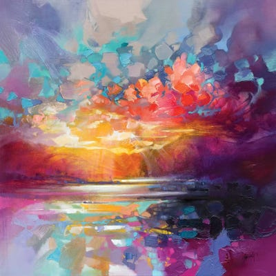 Canvas Print Wall Art 2 sizes available Rising Scott Naismith