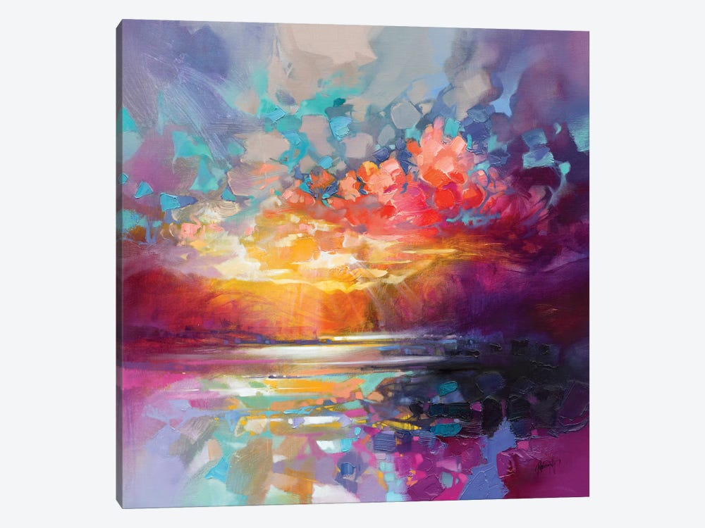 Skye Fragments by Scott Naismith 1-piece Canvas Wall Art
