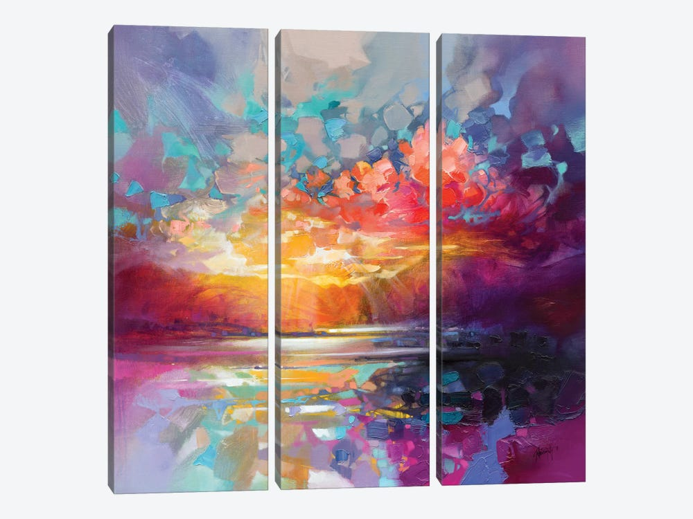 Skye Fragments by Scott Naismith 3-piece Canvas Artwork