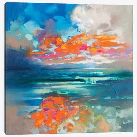 Above & Below Harris Canvas Print #SNH123} by Scott Naismith Art Print