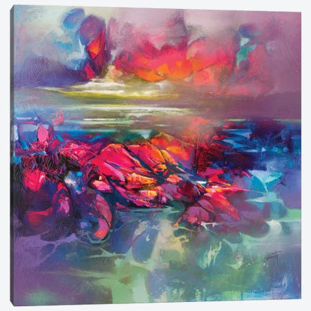 Below The Surface Canvas Print #SNH125} by Scott Naismith Canvas Wall Art