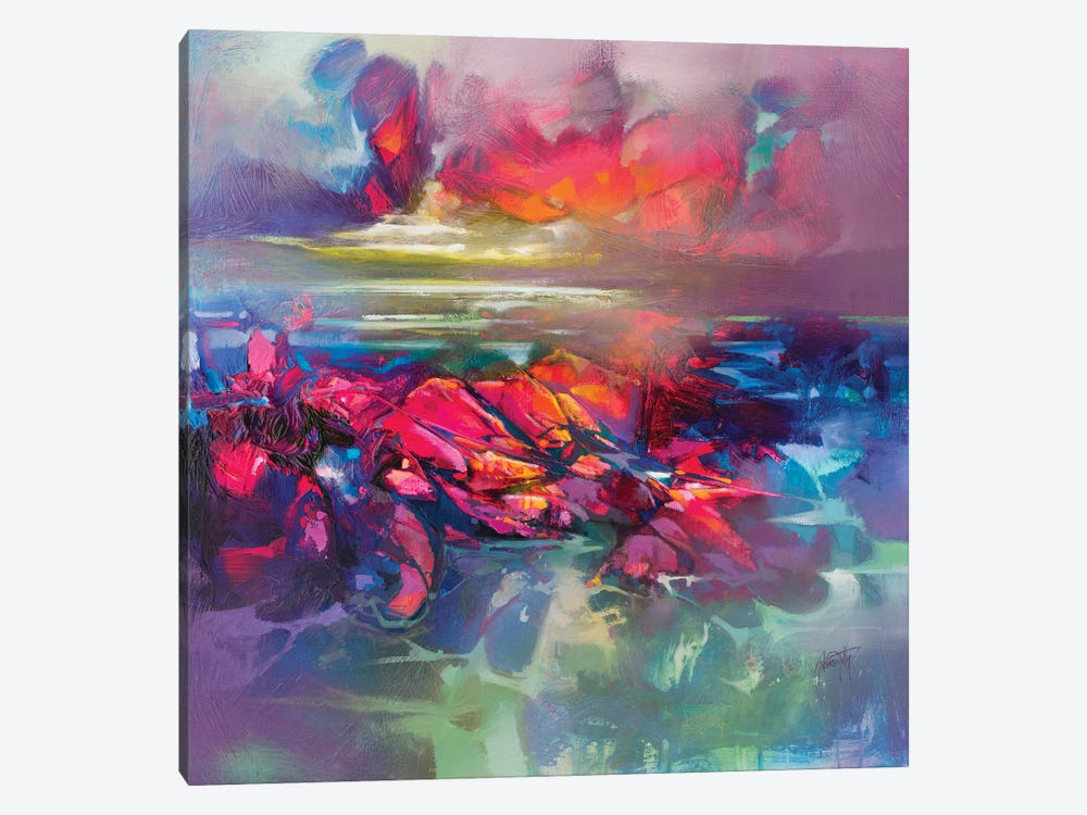 Below The Surface by Scott Naismith 1-piece Canvas Art Print