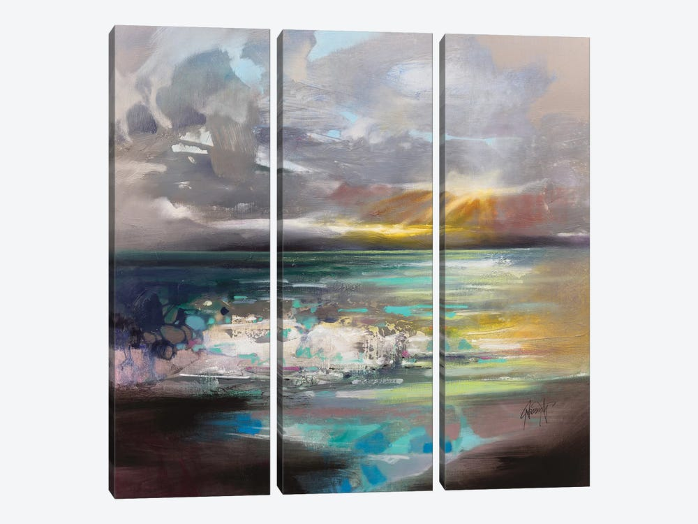 Breaking by Scott Naismith 3-piece Canvas Wall Art