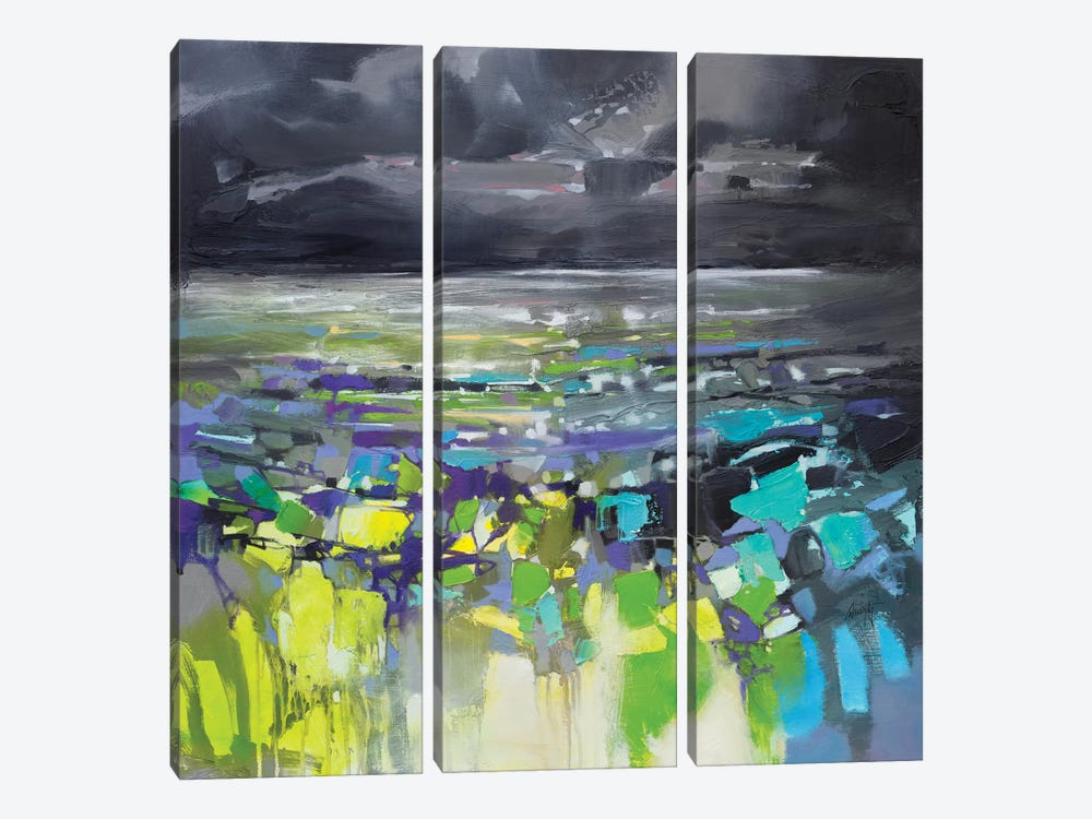 Dark Energy I by Scott Naismith 3-piece Canvas Print