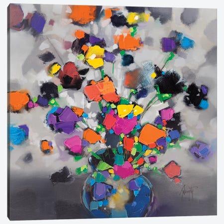 Floral Spectrum I Canvas Print #SNH129} by Scott Naismith Art Print