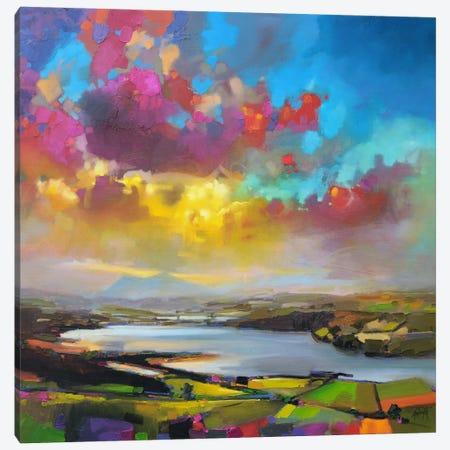 Struie Hill Dornoch Canvas Print #SNH12} by Scott Naismith Canvas Print