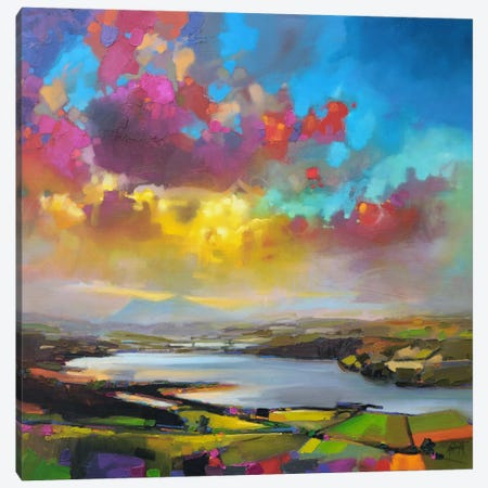 Struie Hill Dornoch Canvas Print #SNH12} by Scott Naismith Canvas Print