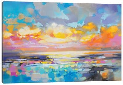 Fractured Cumulus Canvas Art Print