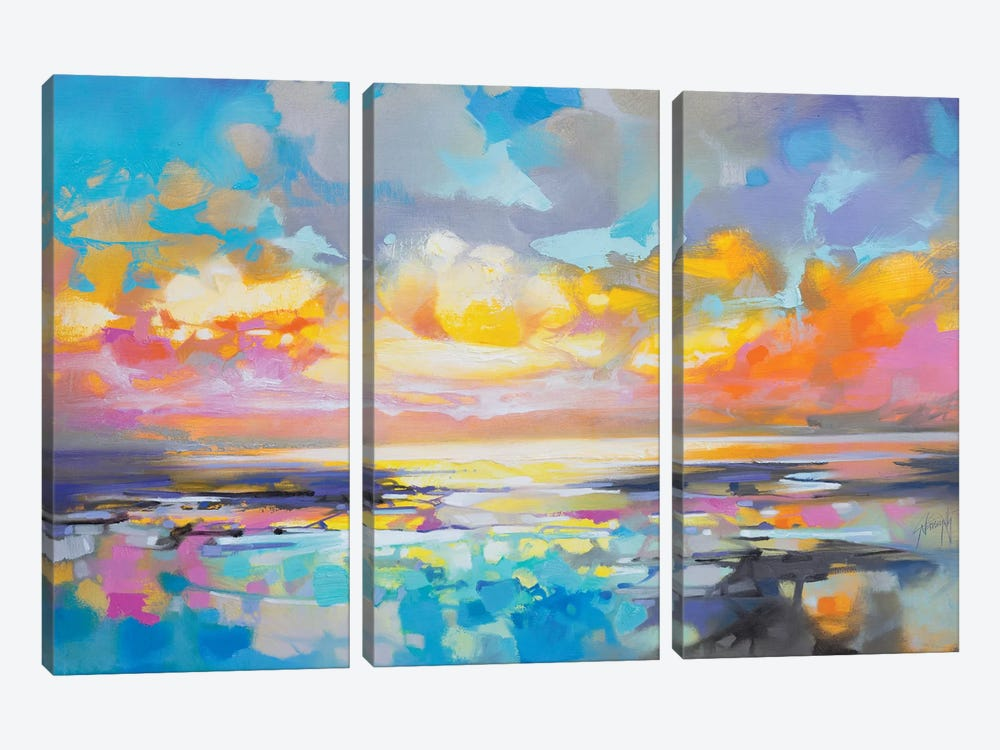 Fractured Cumulus by Scott Naismith 3-piece Art Print