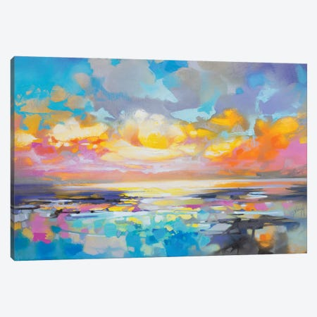 Fractured Cumulus Canvas Print #SNH130} by Scott Naismith Canvas Artwork