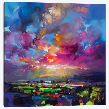 Highland Proximity Canvas Print #SNH131} by Scott Naismith Canvas Art