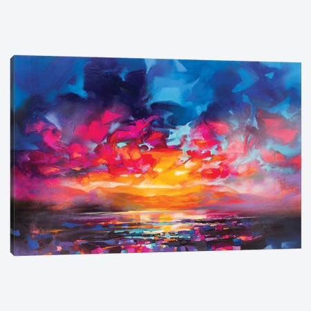 Liquid Light V Canvas Print #SNH133} by Scott Naismith Canvas Wall Art