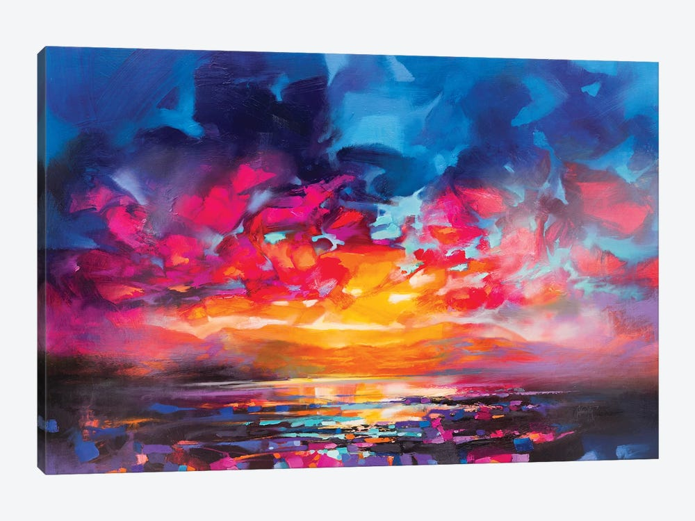 Liquid Light V by Scott Naismith 1-piece Canvas Wall Art