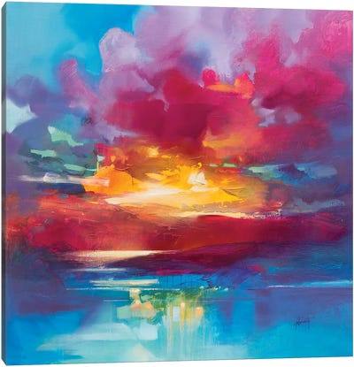Loch Lomond Sky Canvas Art Print