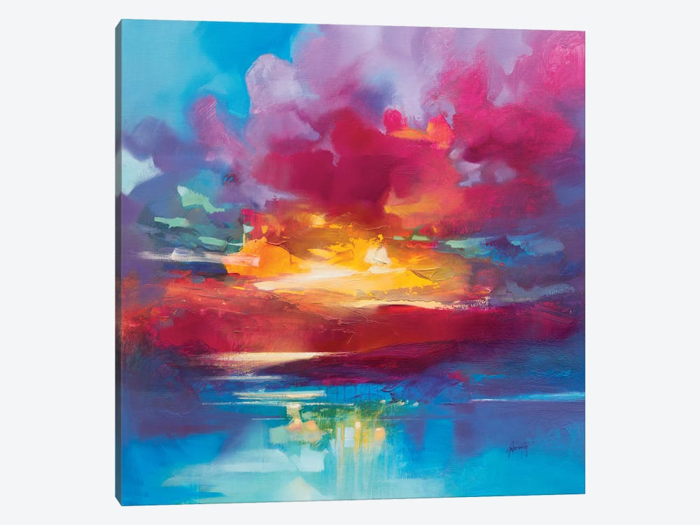 Loch Lomond Sky by Scott Naismith 1-piece Art Print