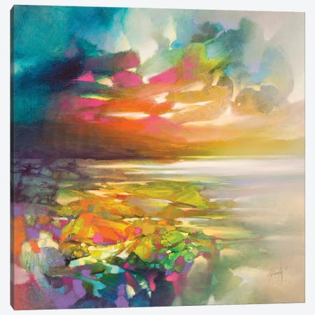 Overlap Canvas Print #SNH135} by Scott Naismith Canvas Print